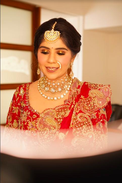 Pre-wedding Bridal Photoshoot of Harsha before her Sea Princess Juhu Wedding