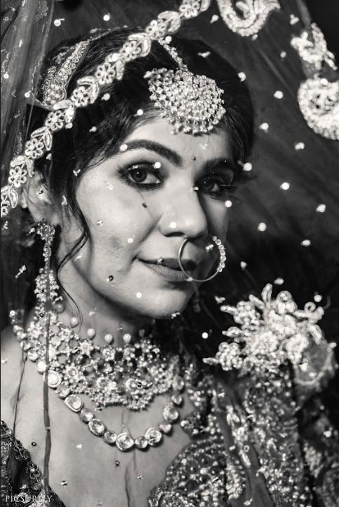 Sea Princess Juhu Wedding's Beautiful Pre-wedding Bridal Portraits