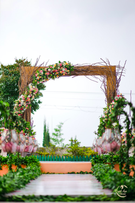 Bohemian Themed Wedding Decor for this Destination Engagement Party