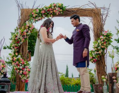 This Destination Engagement Party in Mussoorie with Garden Themed Decor is Drop Dead Gorgeous!